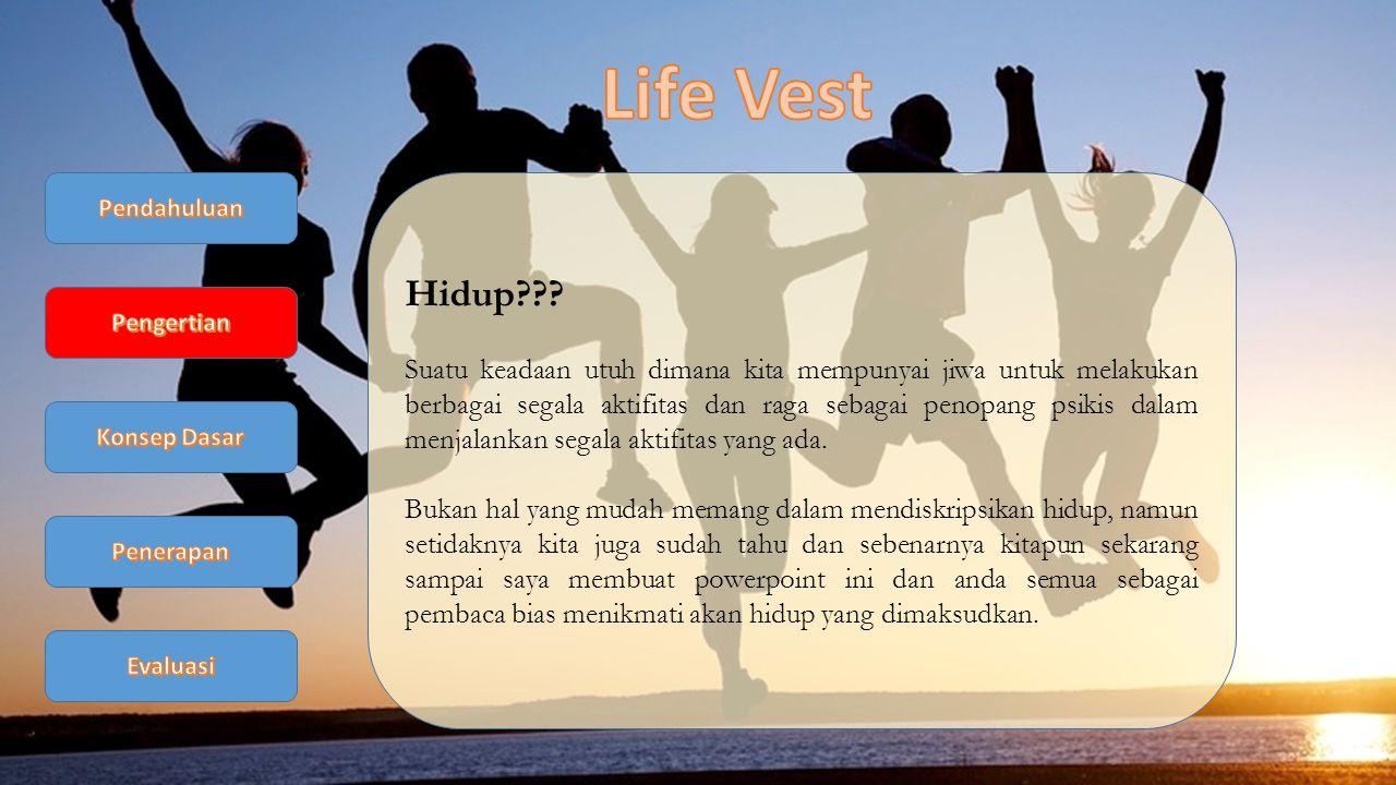 Life Vest Pendahuluan. Hidup