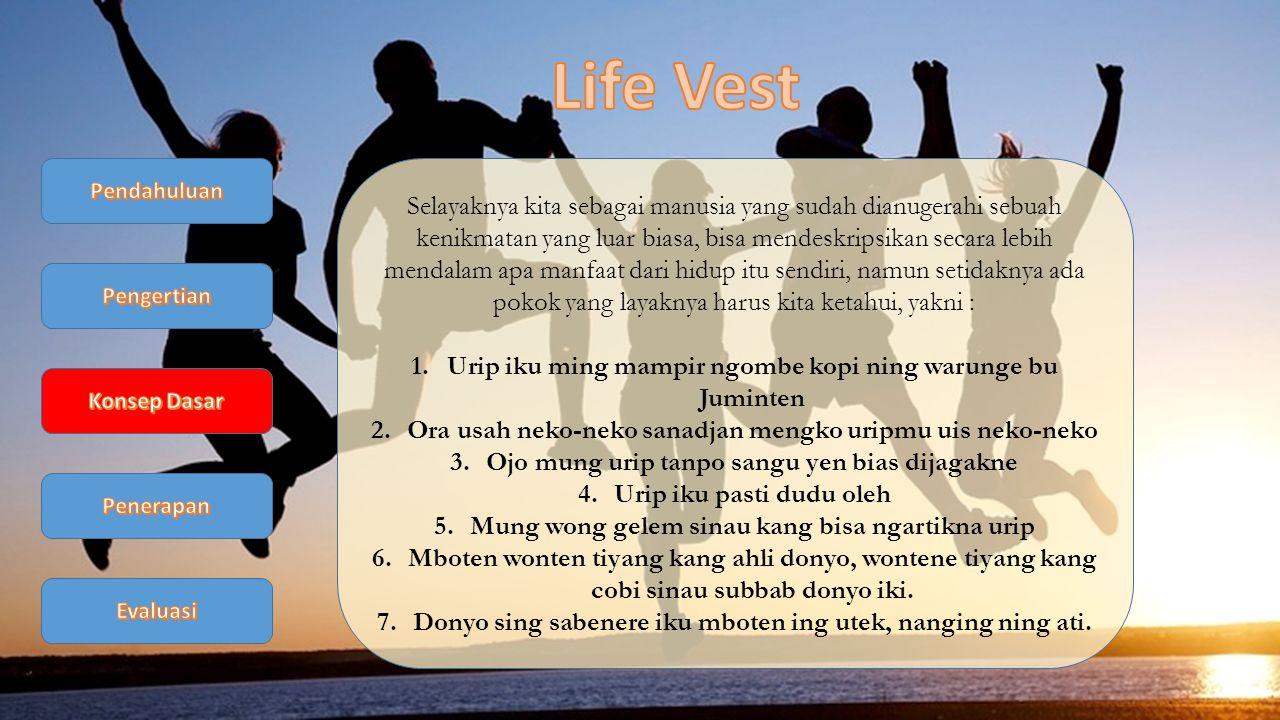 Life Vest Pendahuluan.