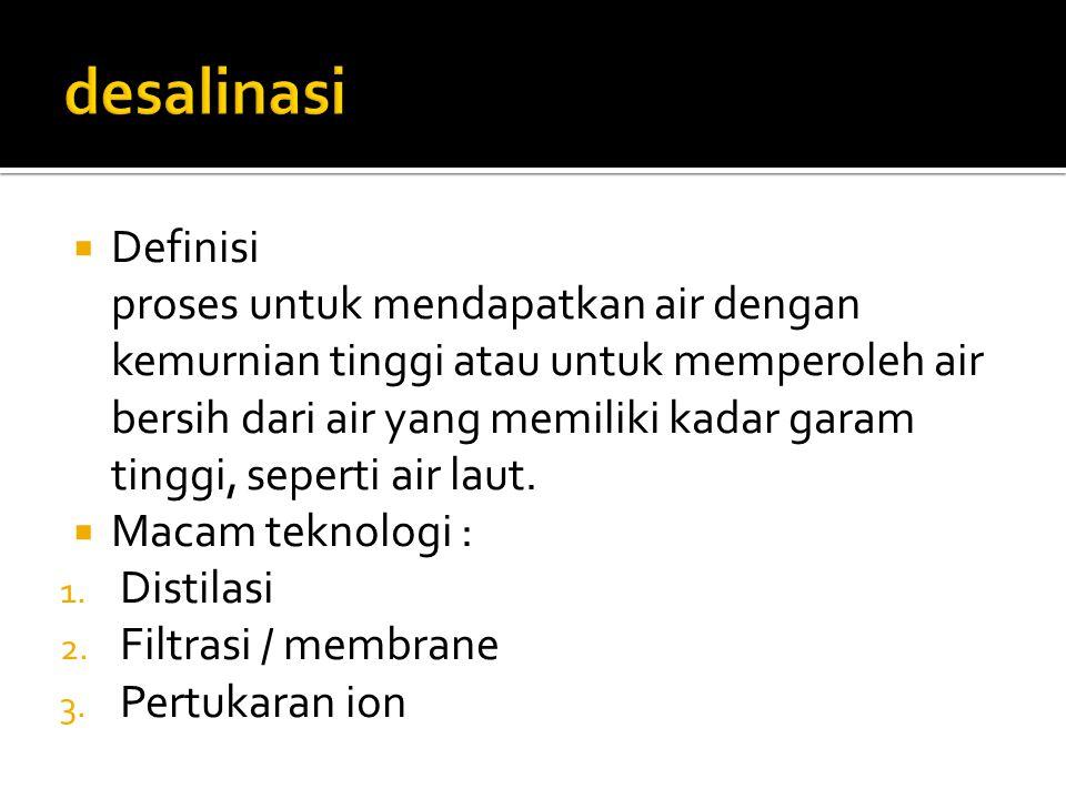 desalinasi Definisi.