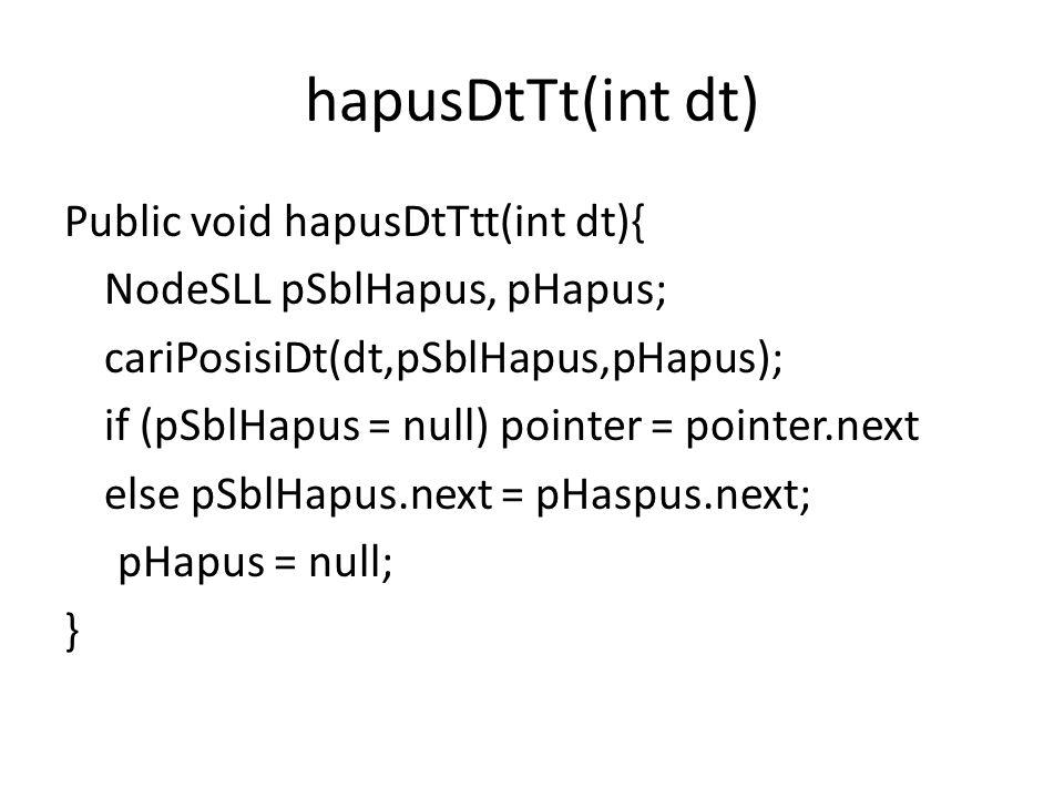 hapusDtTt(int dt)