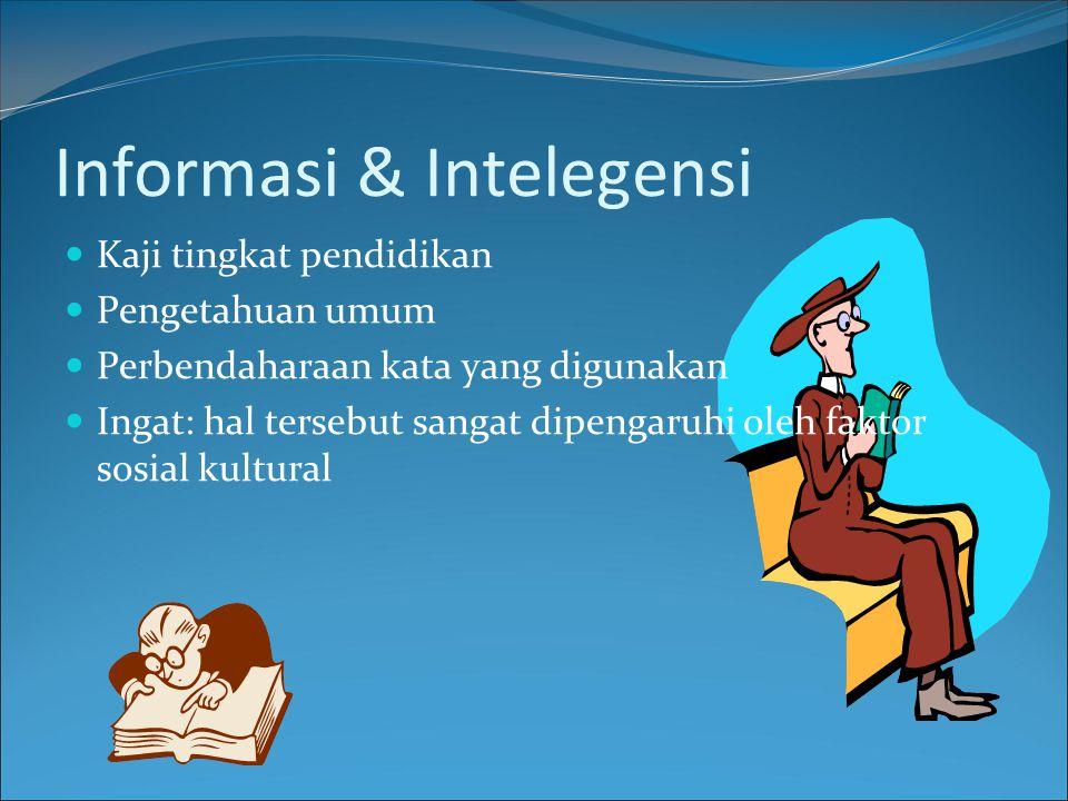 Informasi & Intelegensi