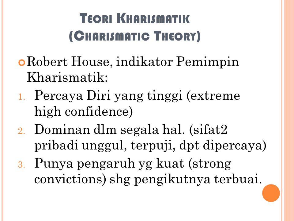 Teori Kharismatik (Charismatic Theory)