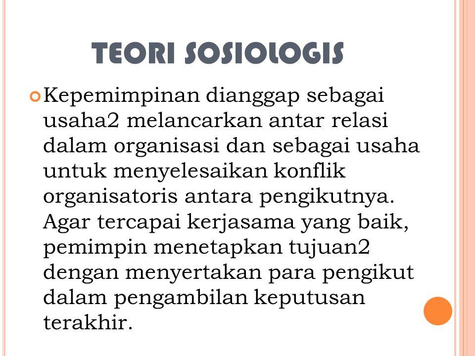 TEORI SOSIOLOGIS