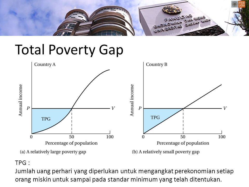 Total Poverty Gap TPG :