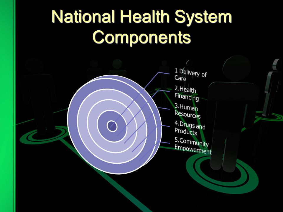 National Health System Components