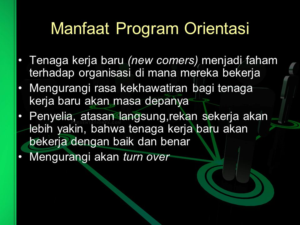 Manfaat Program Orientasi
