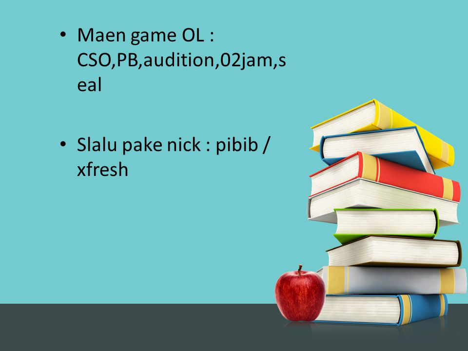 Maen game OL : CSO,PB,audition,02jam,seal