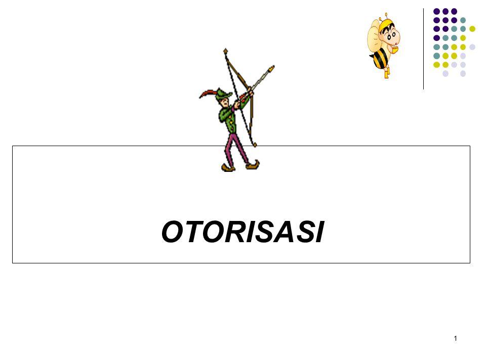 OTORISASI 1