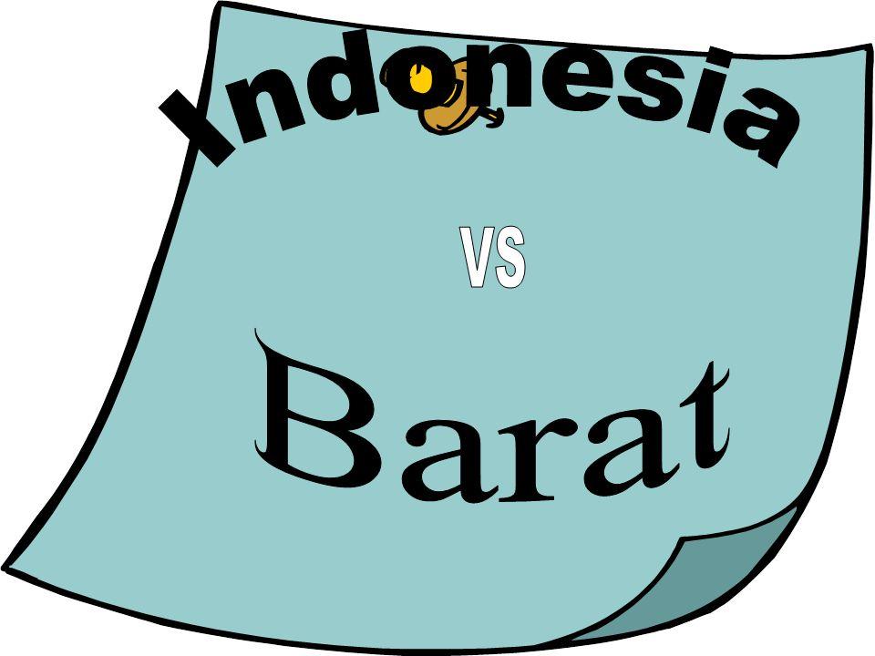 Indonesia VS Barat