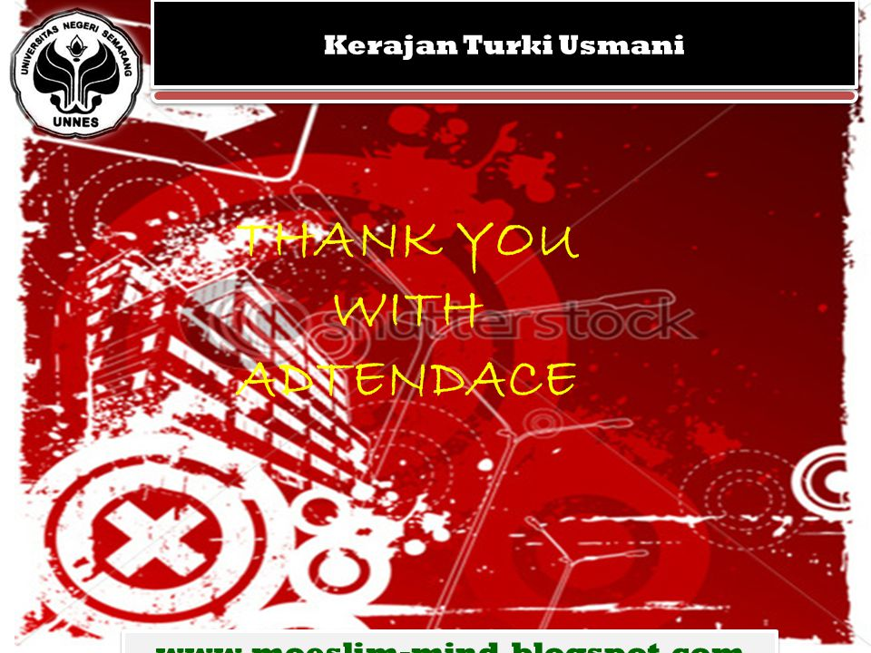 THANK YOU WITH ADTENDACE