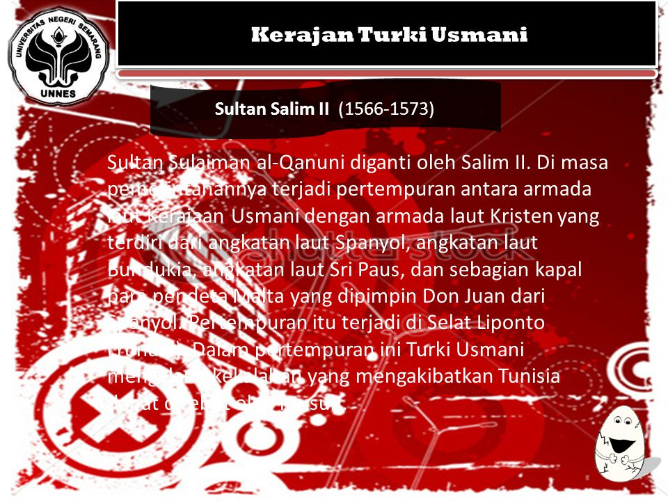 Kerajan Turki Usmani Sultan Salim II (1566-1573)