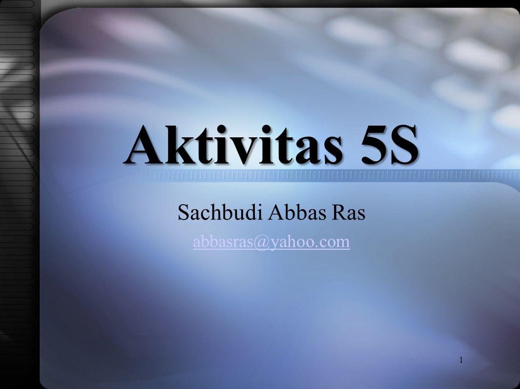 Sachbudi Abbas Ras abbasras@yahoo.com