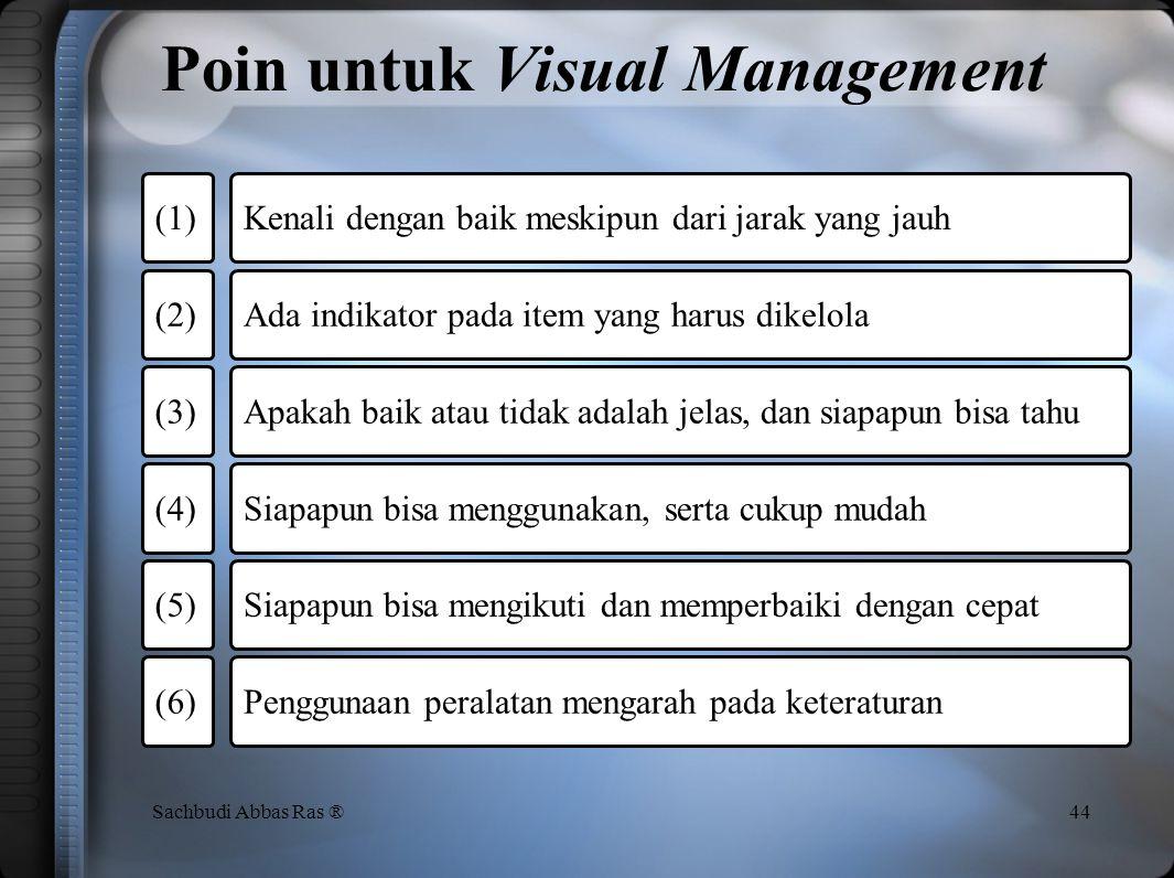 Poin untuk Visual Management