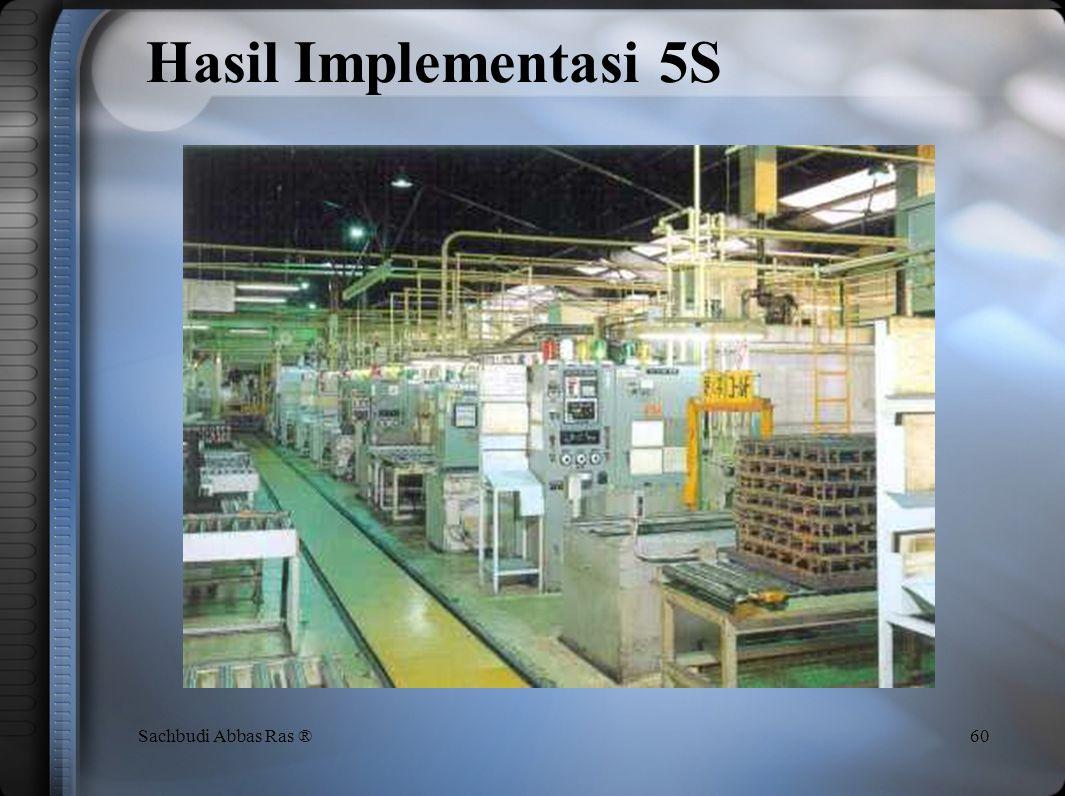 Hasil Implementasi 5S Sachbudi Abbas Ras ®
