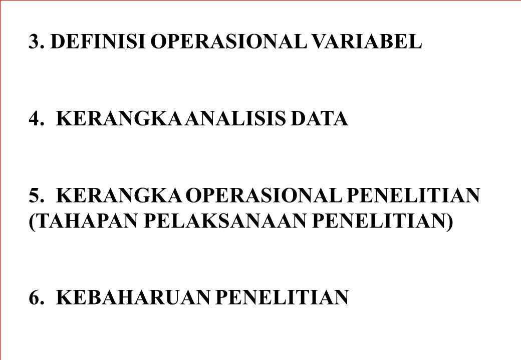 3. DEFINISI OPERASIONAL VARIABEL