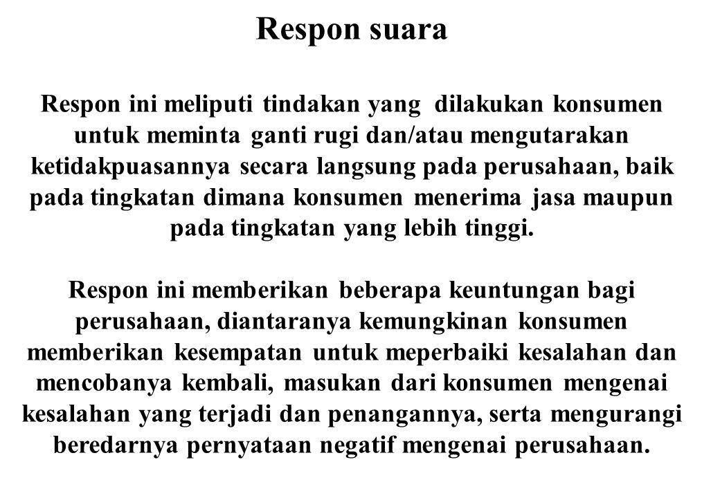 Respon suara