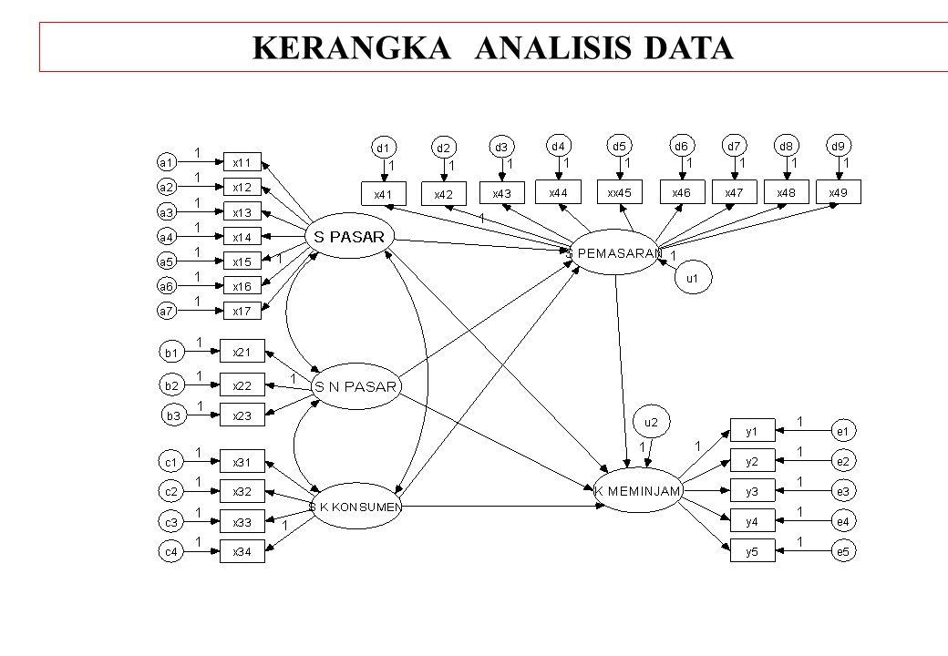 KERANGKA ANALISIS DATA