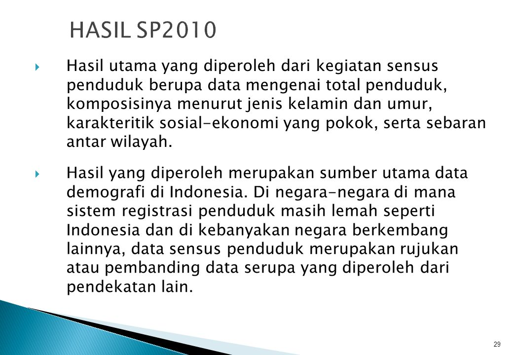 HASIL SP2010