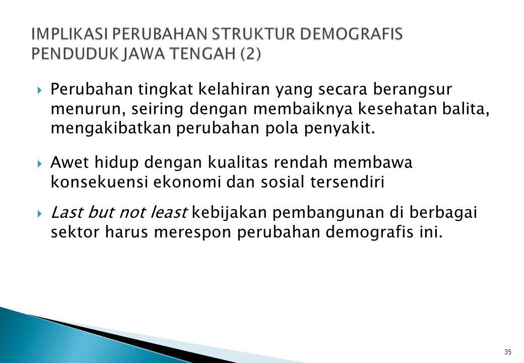 IMPLIKASI PERUBAHAN STRUKTUR DEMOGRAFIS PENDUDUK JAWA TENGAH (2)