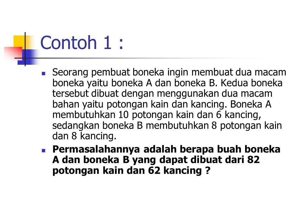 Contoh 1 :