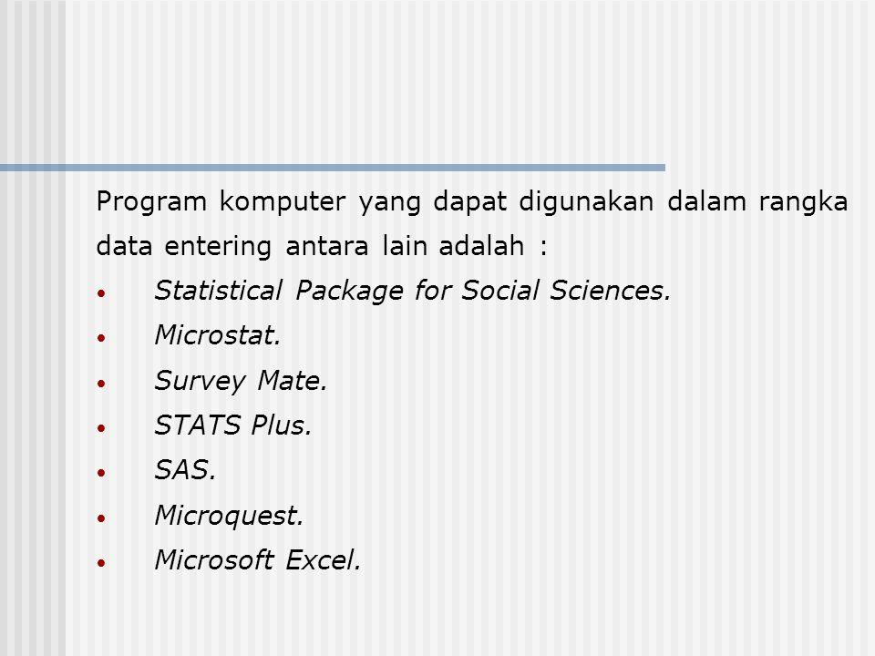Program komputer yang dapat digunakan dalam rangka