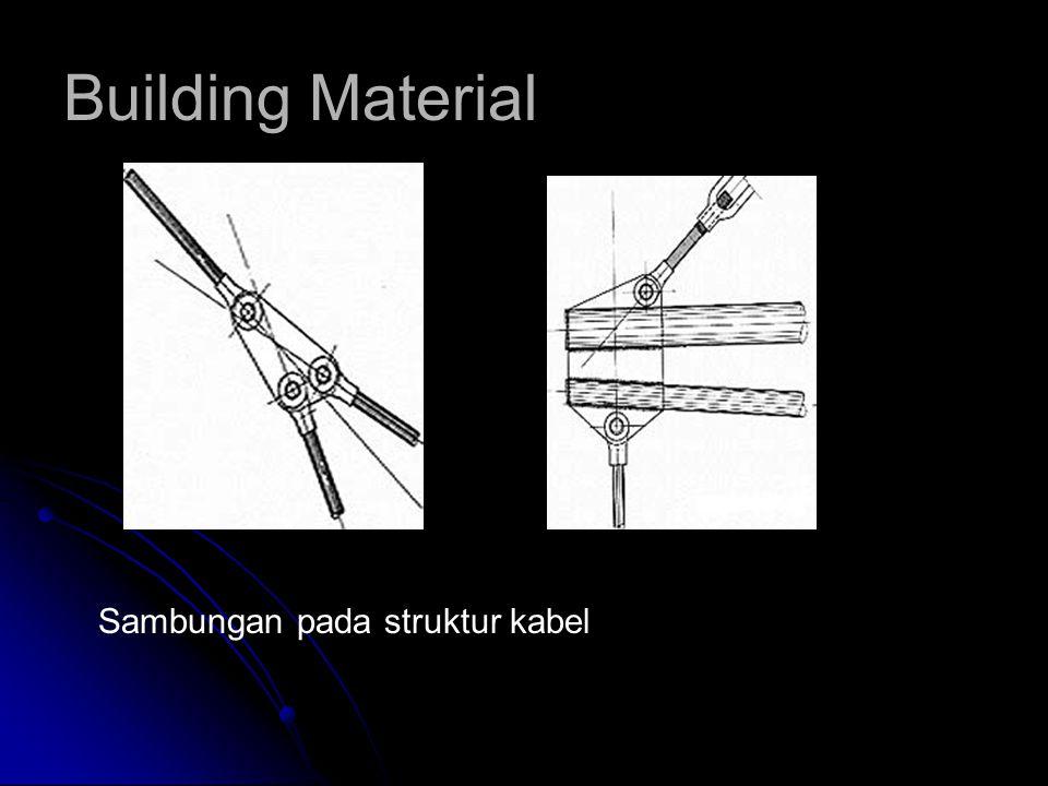 Building Material Sambungan pada struktur kabel
