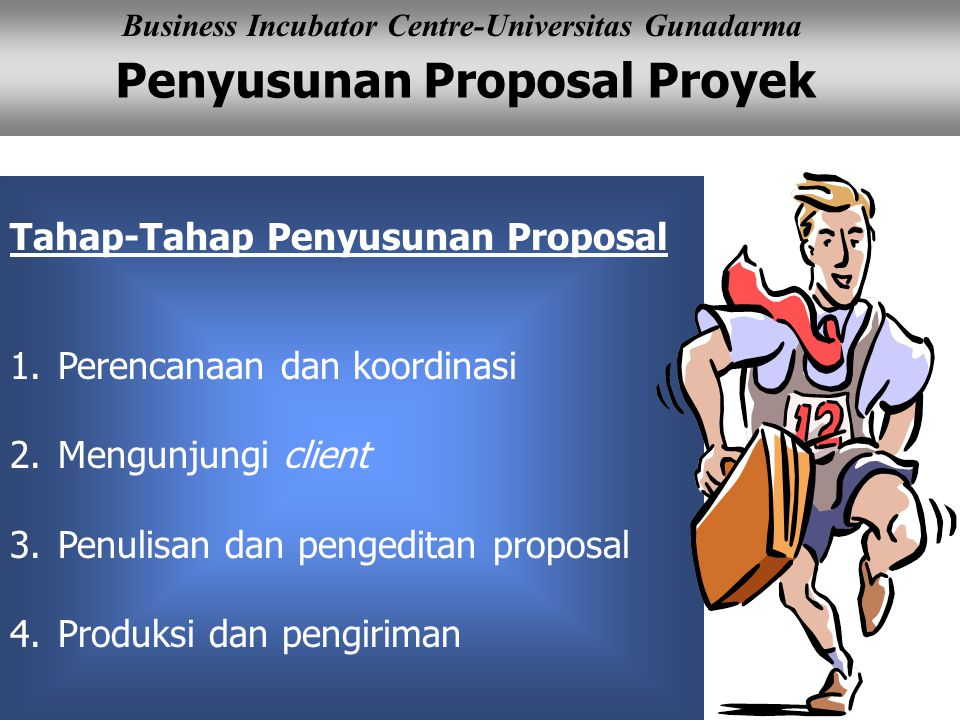 Tahap-Tahap Penyusunan Proposal