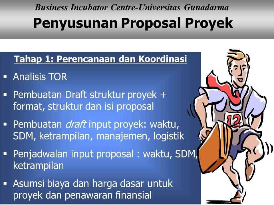 Tahap 1: Perencanaan dan Koordinasi
