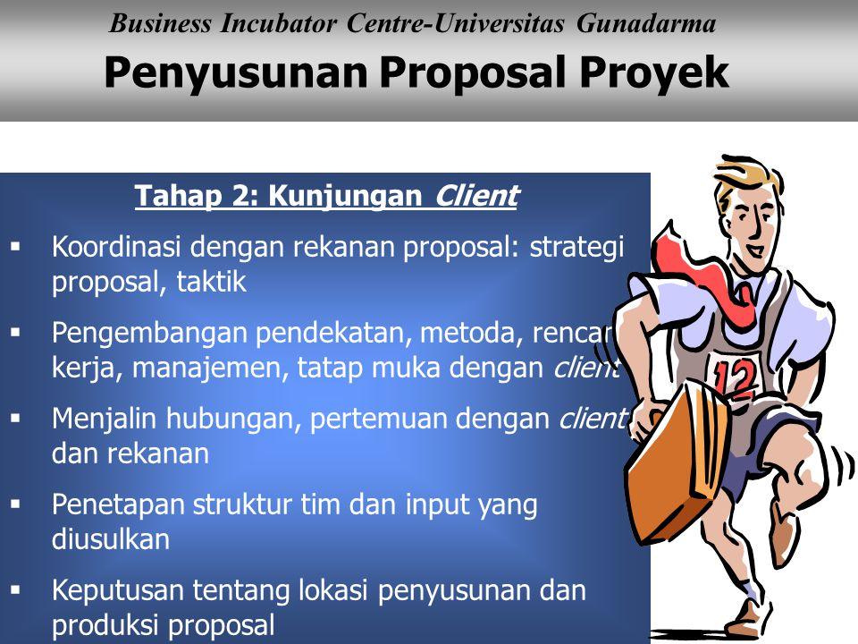 Tahap 2: Kunjungan Client