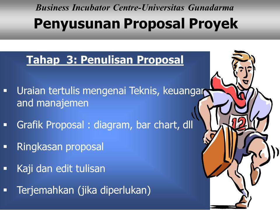 Tahap 3: Penulisan Proposal