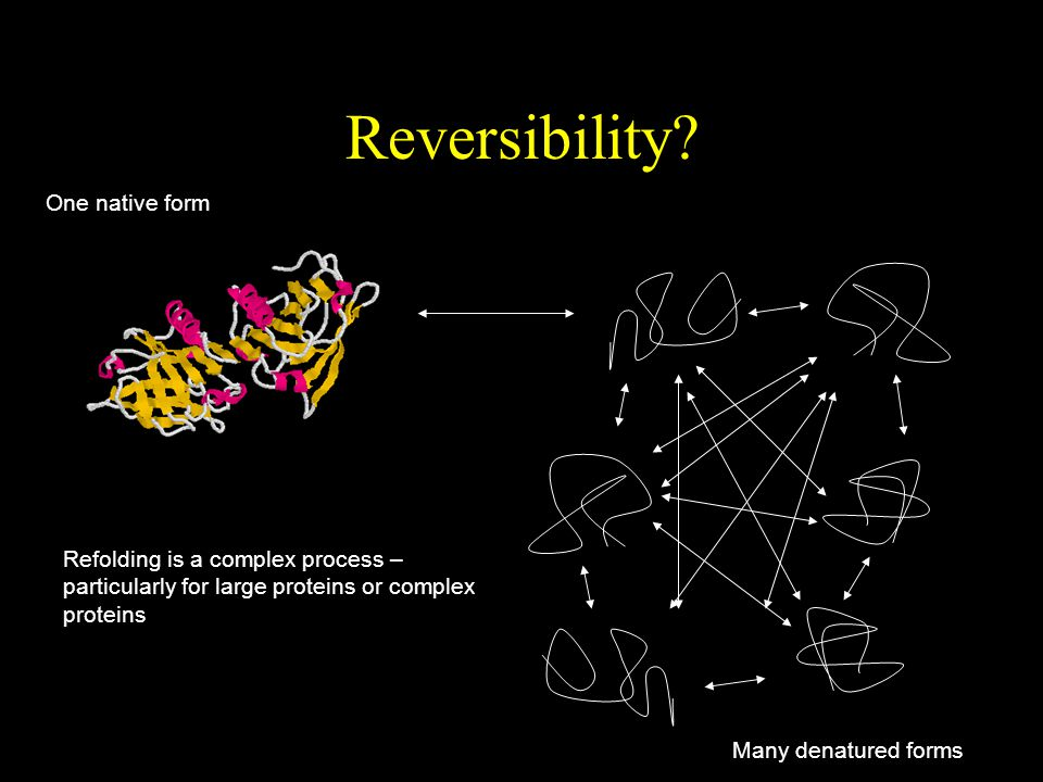 Reversibility One native form