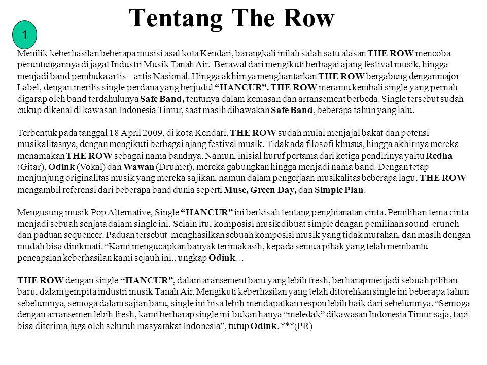 Tentang The Row 1.