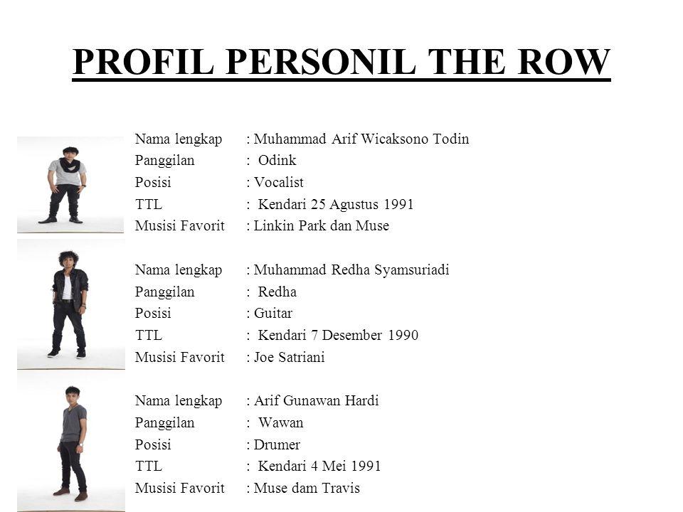 PROFIL PERSONIL THE ROW