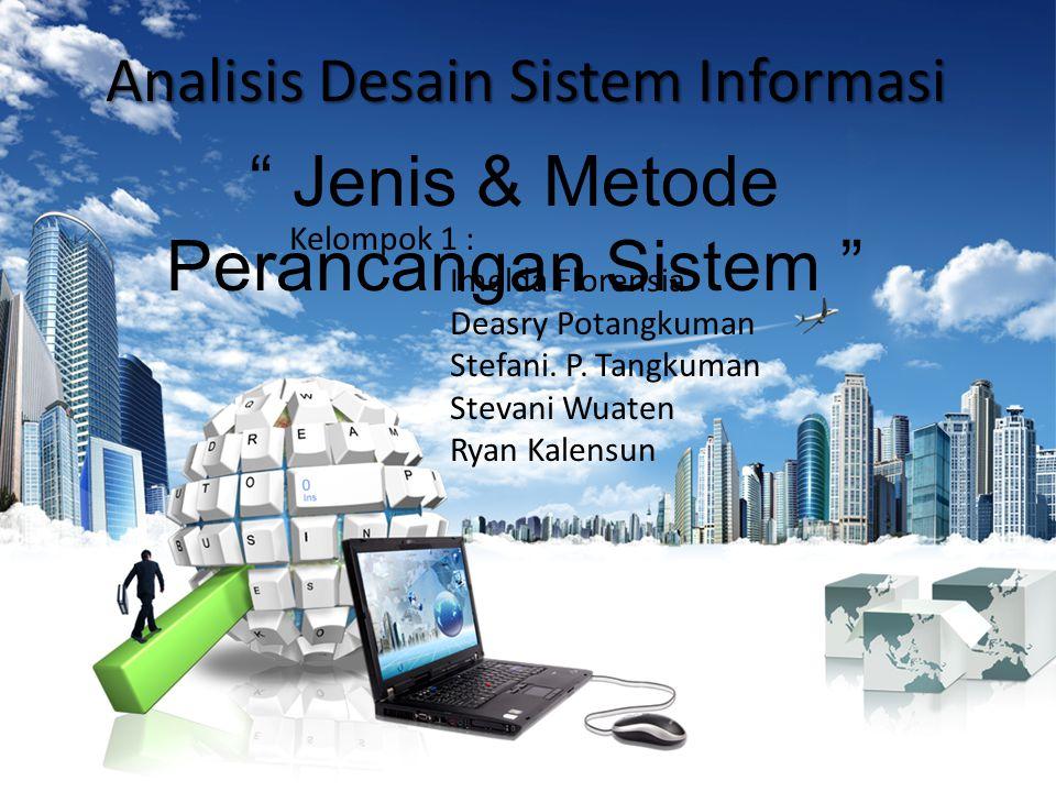 Analisis Desain Sistem Informasi