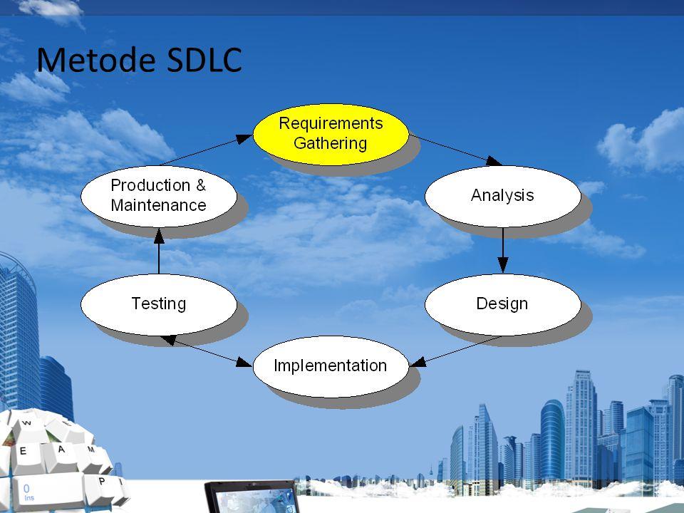Metode SDLC Production & Maintenance : Produksi & Pemeliharaan