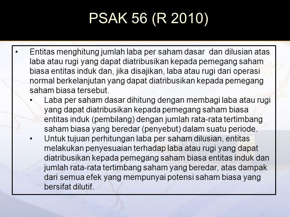 PSAK 56 (R 2010)