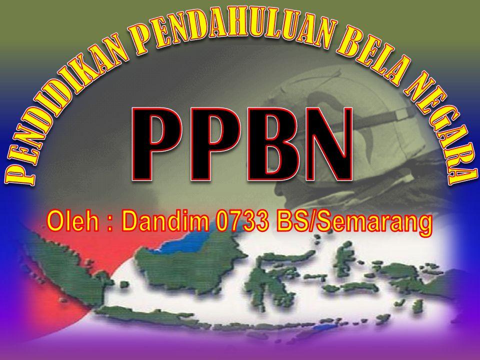 PENDIDIKAN PENDAHULUAN BELA NEGARA Oleh : Dandim 0733 BS/Semarang
