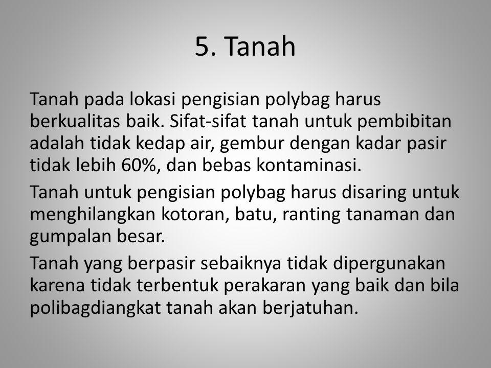 5. Tanah