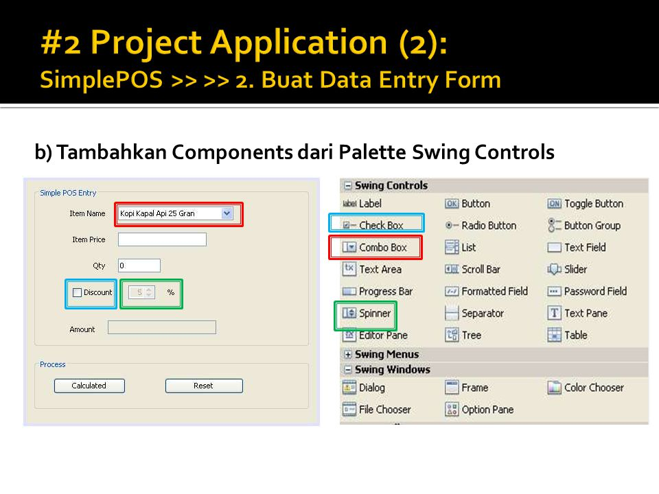 #2 Project Application (2): SimplePOS >> >> 2
