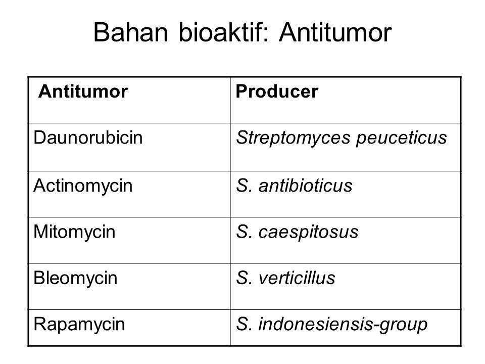 Bahan bioaktif: Antitumor