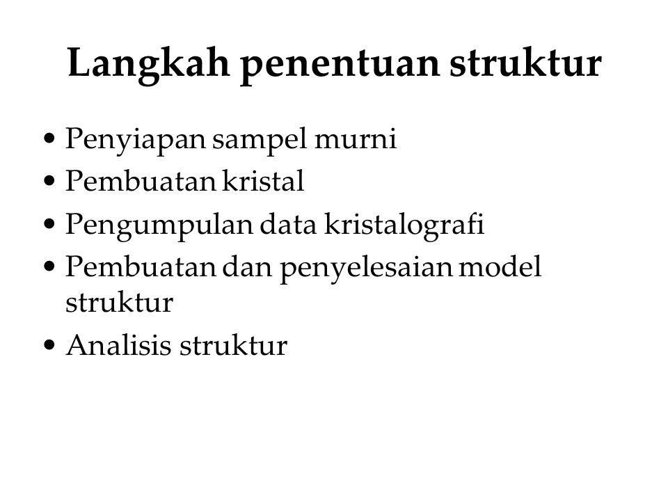 Langkah penentuan struktur