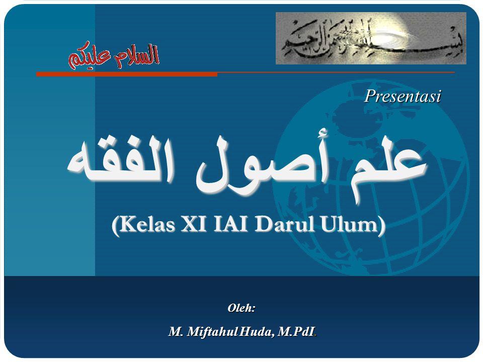 (Kelas XI IAI Darul Ulum)