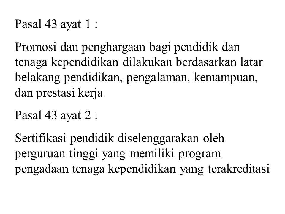 Pasal 43 ayat 1 :