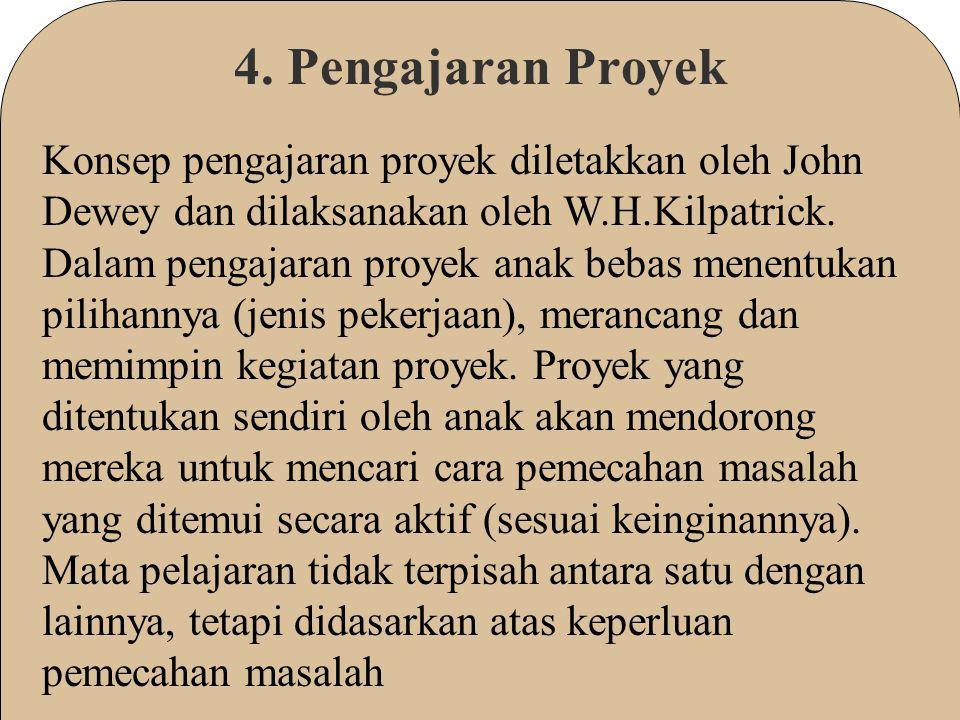 4. Pengajaran Proyek