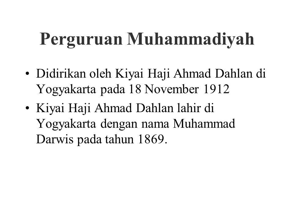 Perguruan Muhammadiyah