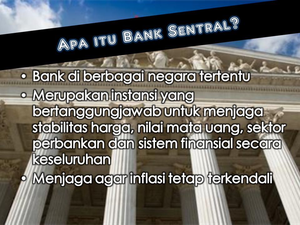 Bank di berbagai negara tertentu