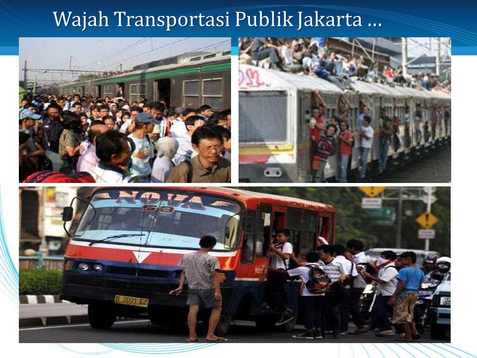 Wajah Transportasi Publik Jakarta …