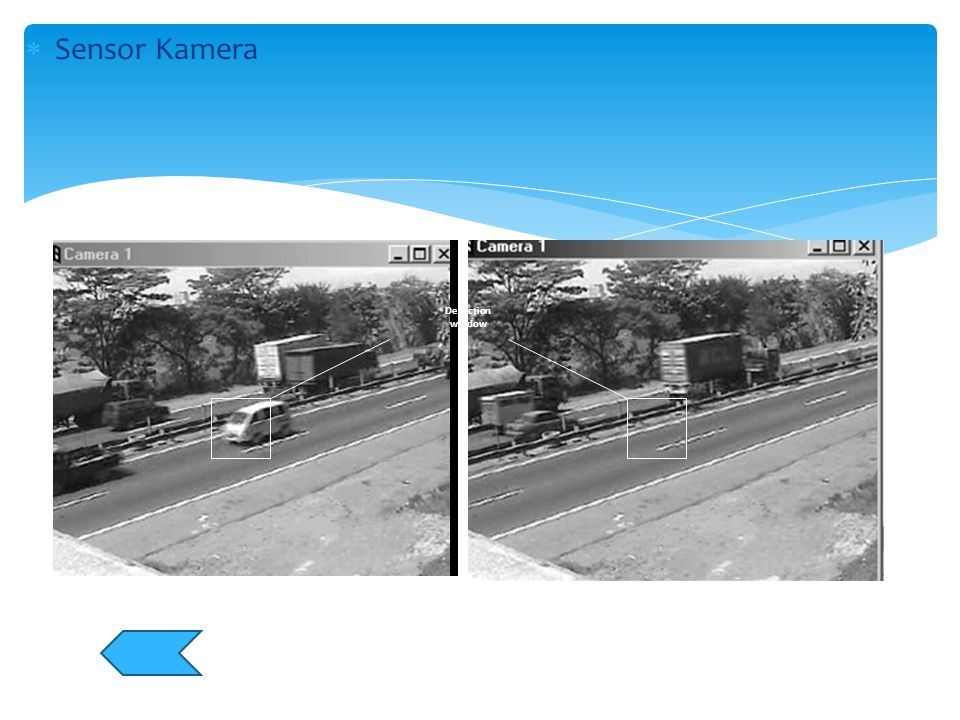 Sensor Kamera Detection window