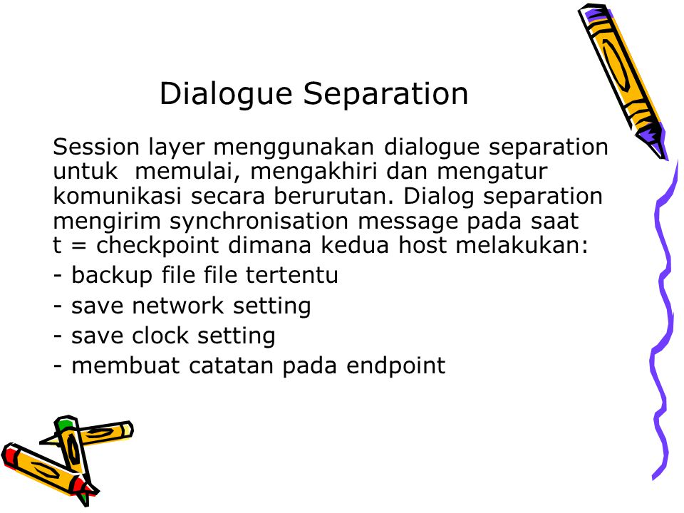 Dialogue Separation