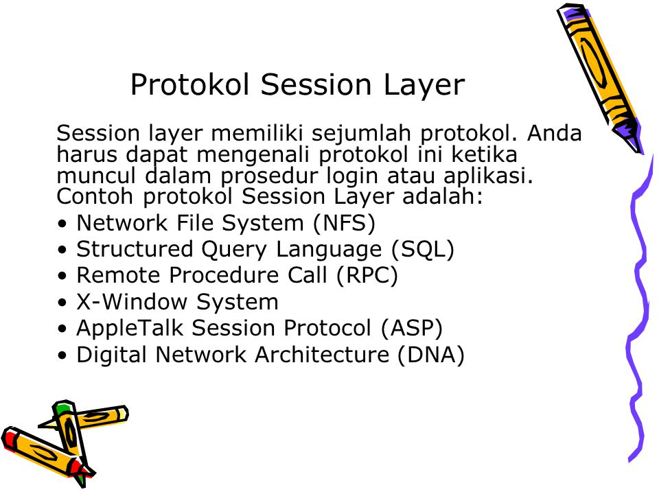 Protokol Session Layer